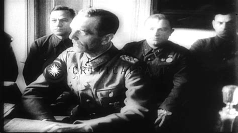 Nazis surrender in Soviet Union after the battle of