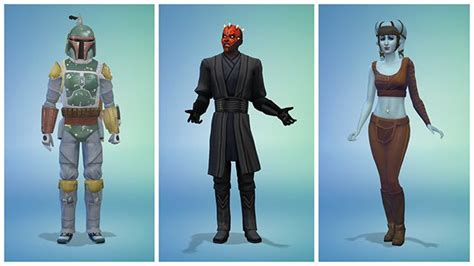Celebrate Star Wars™ Day with New Costumes in The Sims 4