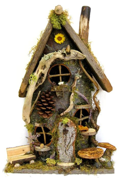 Flat-Backed Gnome Home ~ Large - Whimsical Woods